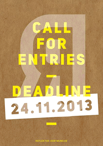 Plakat: Call for entries